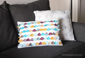 Anthropologie Knock Off DIY Pillow