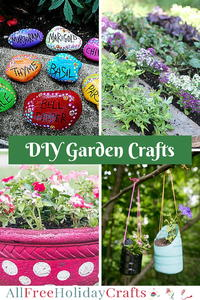 46 Garden Crafts: DIY Planters, Flower Pot Crafts, and More DIY Garden Ideas