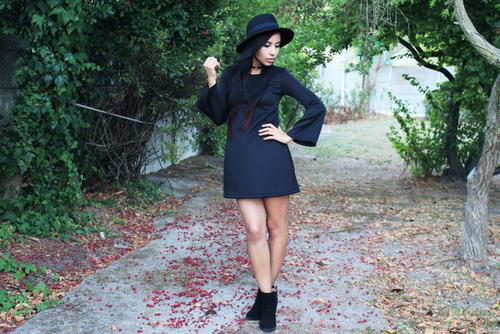 DIY Dress With Bell Sleeves