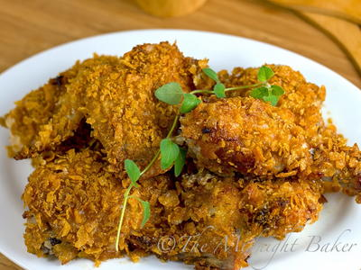 4-Ingredient Crispy Cajun Chicken