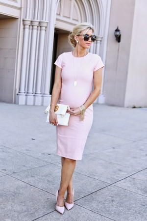 Blush Rose Fitted DIY Dress