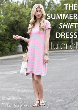 Summer Shift DIY Dress