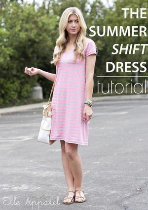 Summer Shift DIY Dress