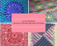 127 of the Best Crochet Granny Square Patterns