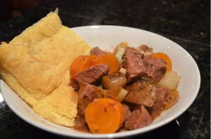 Slow Cooker Steak and Guinness Pie