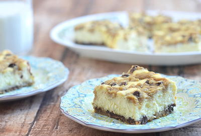 All Time Favorite Chocolate Chip Cookie Cheesecake