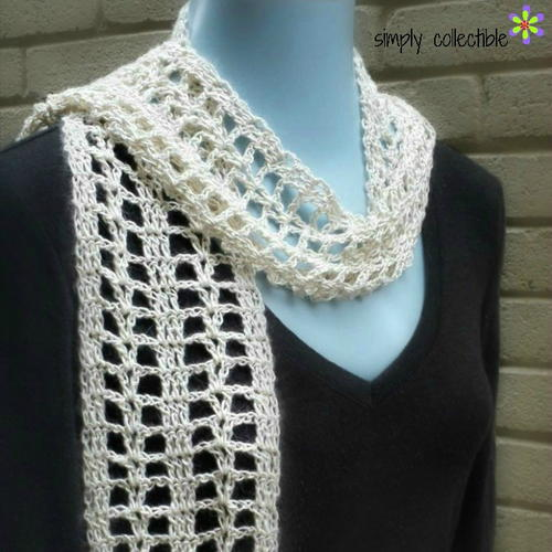 Summer Crush Crochet Scarf Pattern Favecrafts