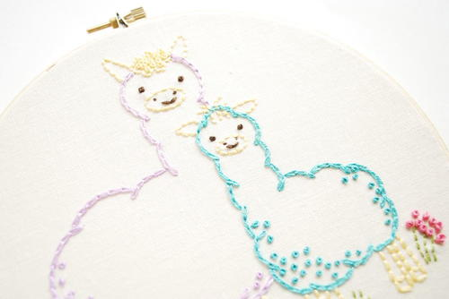 Llama Mama Printable Embroidery Patterns Favecrafts