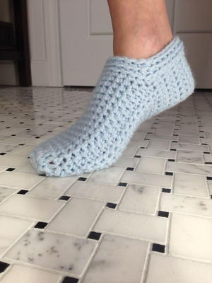 60 Free Crochet Slipper Patterns FaveCrafts Mesmerizing Crochet Shark Slippers Pattern Free