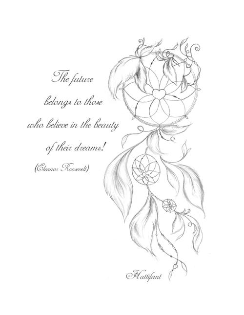 Dreamcatcher Printable Coloring Page