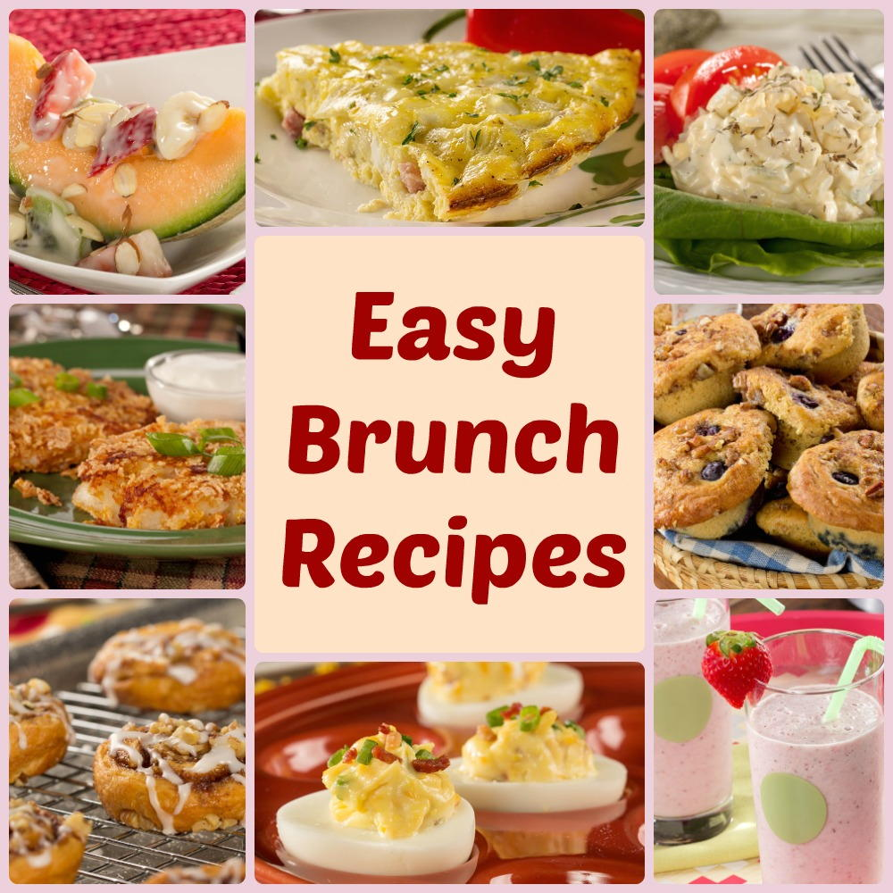 Easy Breakfast Dish: 14 Easy Brunch Recipes You Need