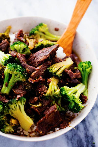 5 Step Beef and Broccoli