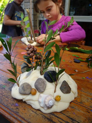 Nature Landscapes Playdough Craft