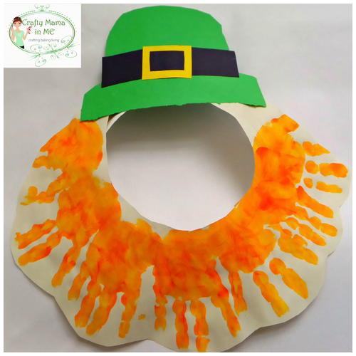 Fun and Easy Paper Plate Leprechaun Mask | AllFreeKidsCrafts.com. Fun And Easy Paper Plate Leprechaun Mask AllFreeKidsCrafts Com & Inspiring Paper Plate Leprechaun Ideas - Best Image Engine ...