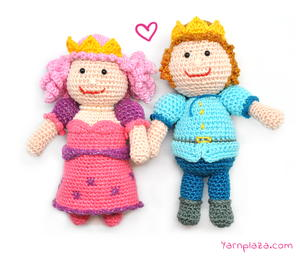26 crochet doll patterns clothing and accessories prince and princess amigurumi dt1010fo