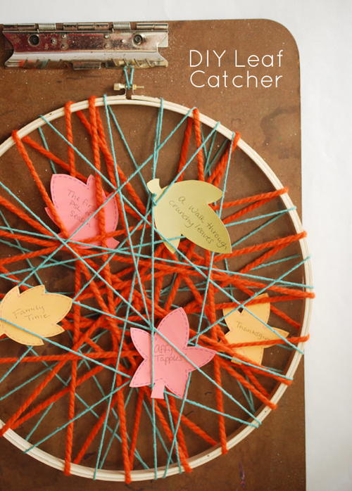 Autumn DIY Dreamcatcher Pattern