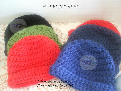 Quick & Easy Men's Hat