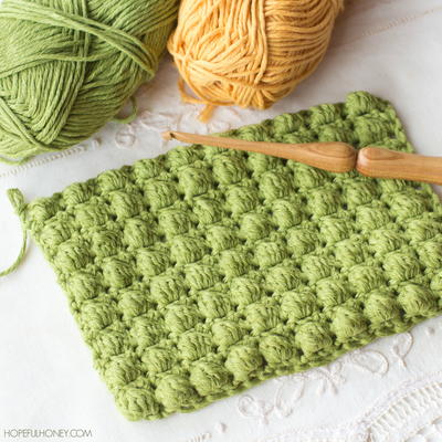 crochet bobble stitch instructions