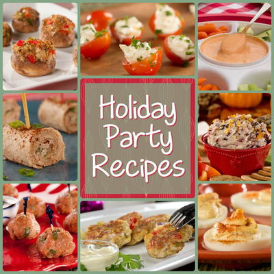 Jolly Christmas Party Recipes 12 Holiday Party Recipes For