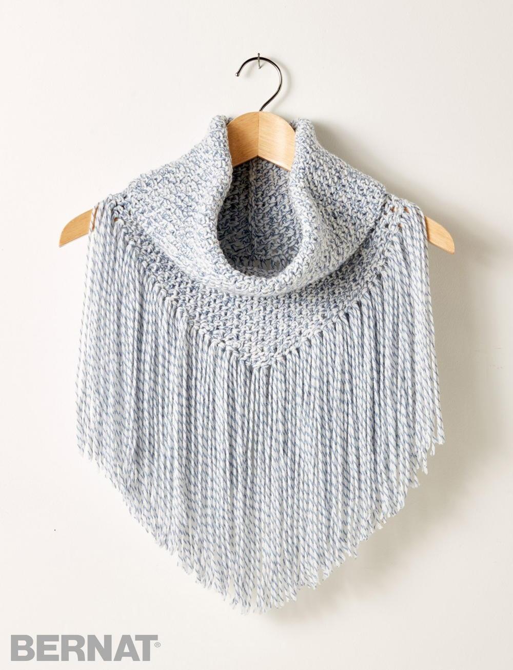 Forever Fringe Crochet Cowl Allfreecrochet