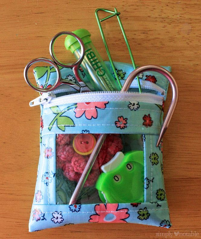 Mini Notions Bag Tutorial