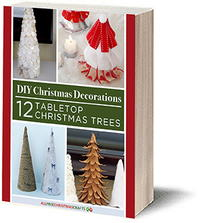 DIY Christmas Decorations: 12 Tabletop Christmas Trees