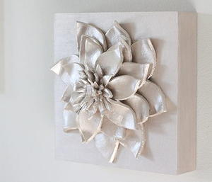 3D Flower DIY Wall Art