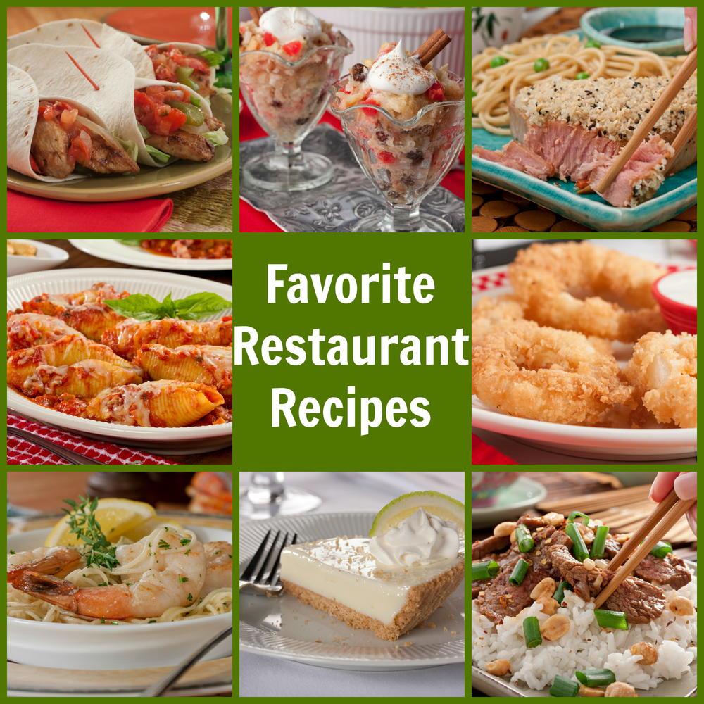 Top 10 Favorite Restaurant Recipes