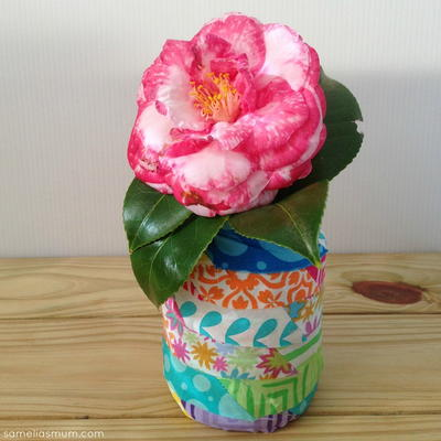 Decorative Fabric Jars