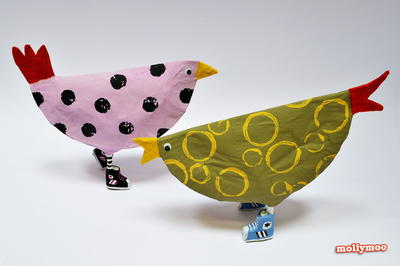 Cool Chicks Papier Mache Craft