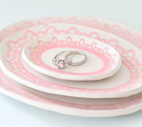 Stunning DIY Jewelry Dish