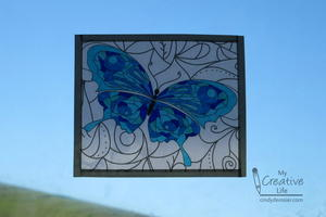 Faux Stained Glass Coloring Book Pages | FaveCrafts.com