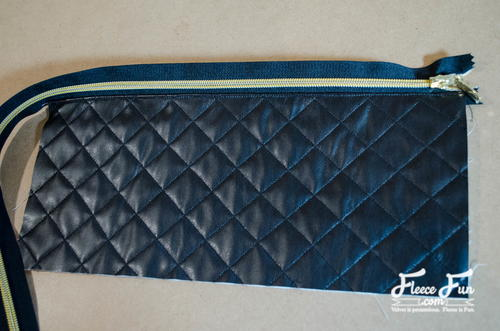 Quilted Leather Clutch Tutorial | AllFreeSewing.com : quilted leather clutch - Adamdwight.com