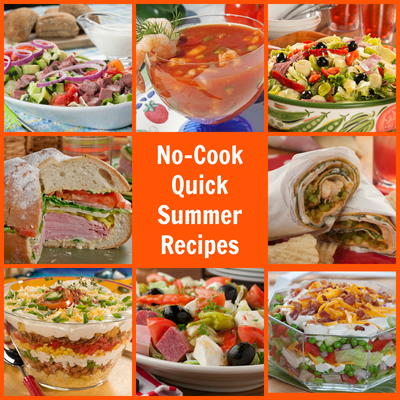 no cook quick summer recipes mrfood com