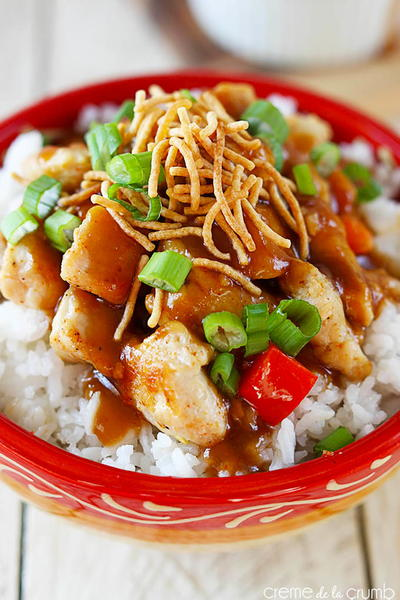 25-Minute Hawaiian Hula Chicken