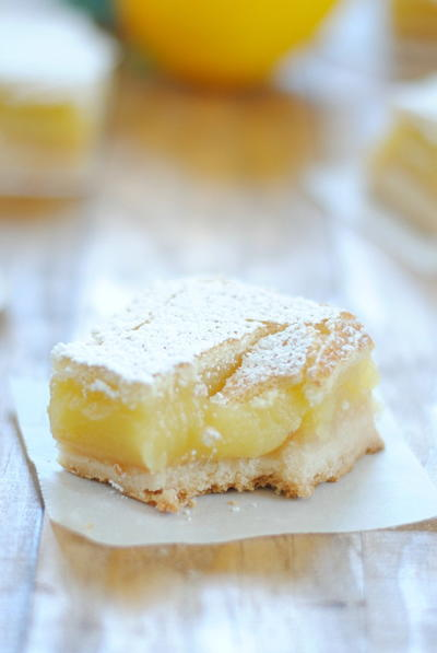 English Garden Lemon Bars