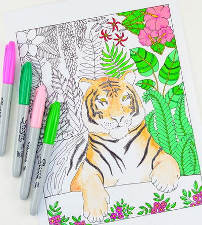 The Beasts Found In These Wild And Majestic Animal Coloring Pages Are Nothing Short Of Extraordinary Theyre Ferocious