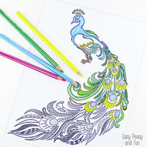 Check Out The Image On GelWriter Instagram Page Get Inspired By All Materials You Can Use To Color In Adult Coloring Pages