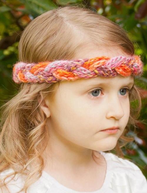Braided Girls Crochet Headbands Favecraftscom