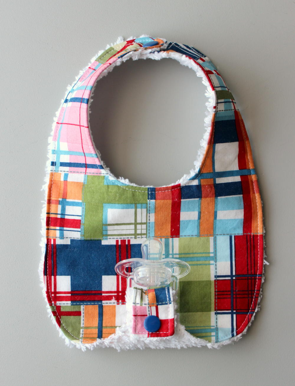 Binky Bib Pattern | AllFreeSewing.com