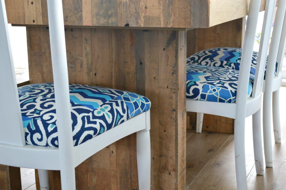 Reupholster Your Chairs With A Quilt Allfreesewing Com