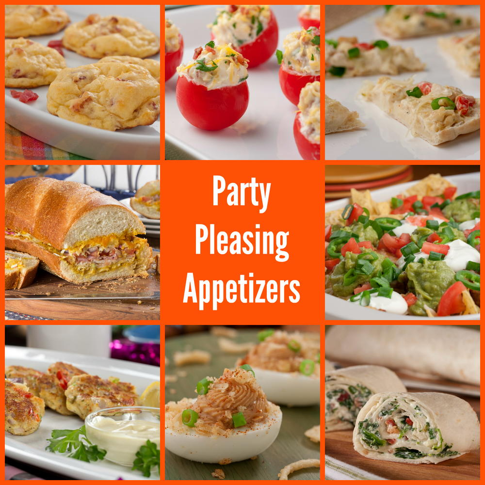 40 Party Pleasing Appetizers