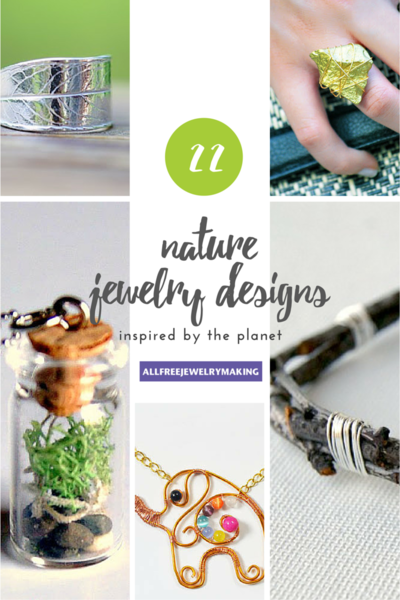 22 Nature Jewelry Designs Inspired by the Planet