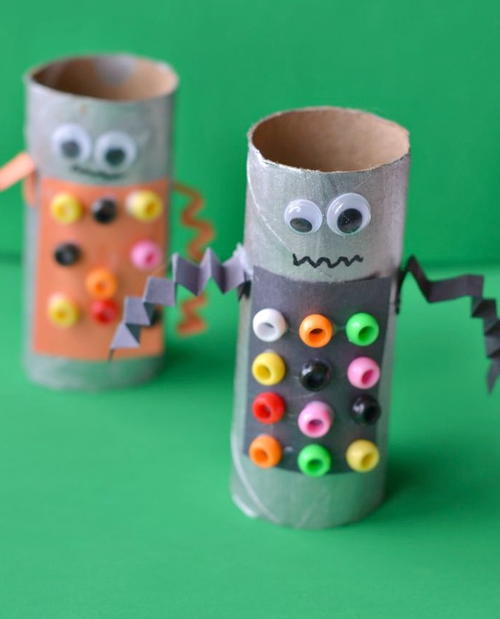 Robot Paper Tube Craft