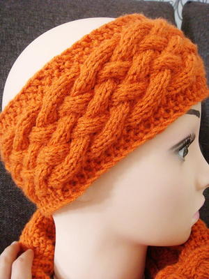 27 Ear Warmer Headband Knitting Patterns | AllFreeKnitting.com