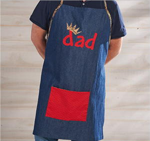 King of the Grill DIY Apron