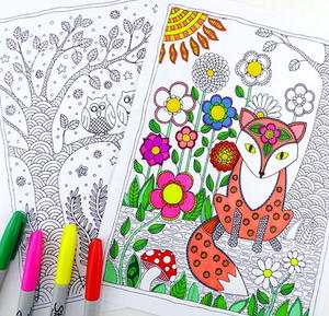 50 Adult Coloring Book Pages Free And Printable Favecrafts Com Coloring Book Pages