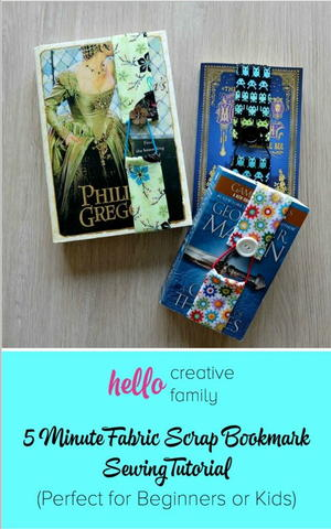 5 Minute DIY Bookmark
