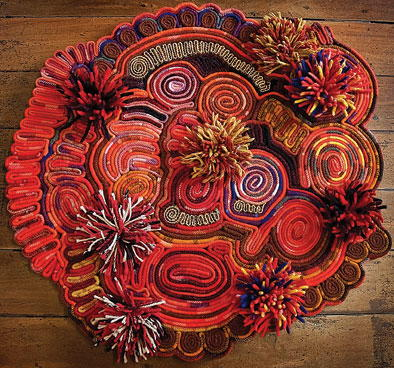 Abstract Rug Hooking Patterns Rughookingmagazine Magnificent Rug Hooking Patterns