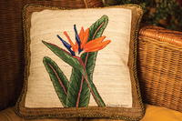 Bird-of-Paradise Pillow